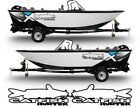 2 Catfish Hunter Decals Stickers Left & Right fish rod boat lure turbo diesel