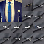 ES_ Men Metal Tie Clip Bar Necktie Pin Clasp Clamp Wedding Charm Creative Gift M