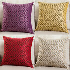 types of pillow filling - ES_ European Square Cushion Throw Pillow Case Cover Car Sofa Home Decor Precious