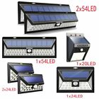 54 LED Mpow Solar Powered Motion Sensor Light Outdoor Security Lamp Lighting UK