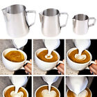 US 150/350/600ml Stainless Steel Coffee Milk Latte Jug Frothing Espresso Pitcher