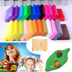 32 / 36 Mixed Color Set Oven Bake Fimo Polymer Soft Clay Modelling Moulding DIY image