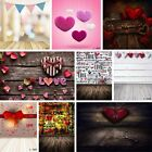 US 5x7ft Heart LOVE Photography Background Romantic Wedding Party Photo Prop 3x5