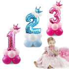 32'' Number Foil Balloons Giant Digit Helium Birthday Party Baby shower Decor