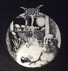 DOOM Police CHAOS UK EXTREME NOISE TERROR  big back patch  punk  crust grind