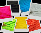 Bright Baby Ruffle Quality Stretch Spandex Fabric  By The Yard 5 Colors