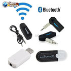 3.5mm Bluetooth Receiver AUX Audio Stereo Music Home Car Adapter 3.0 Black/White