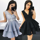 fashion dress - Fashion Women Lace Short Dress Prom Evening Party Cocktail Bridesmaid Wedding