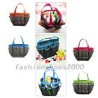 Shower Bath Caddy Mesh Pockets Portable Tote Organizer Storage Pouch Bags