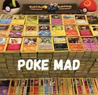5-1000 Pokemon Cards Bundle/Joblot- HOLO/GUARANTEED-NO DOUBLES-Genuine UK Cards!