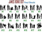 Vinyl Decal Sticker 007 James Bond Car Wall Window Laptop Art $12.99 CAD on eBay