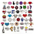 RUBYCA Birthstones Floating Charms Lot Fit Living Memory Locket Jewelry Making