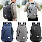 Men's Laptop Backpack School Book Bag Travel Rucksack with USB Charge Interface