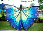 CARNIVAL BELLY DANCE FESTIVAL ISIS BUTTERFLY SILK WINGS 100 SILK