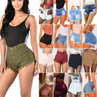 light jeans - Women's Casual High Waisted Short Mini Jeans Denim Slim Beach Shorts Hot Pants