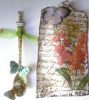altered art mixed media glassine bag with ornament valentines mothers day gift