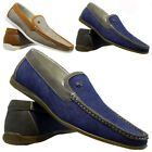 MENS DESIGNER ITALIAN LOAFERS CASUAL SLIP ON DECK BOAT MOCCASIN DRIVING SHOES