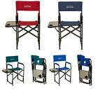 Glitzhome Professional Makeup Artist Directors Chair Foldable Portable Tall Seat