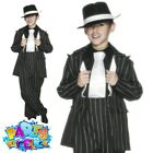 Child Gangster Zoot Suit Mob 1920s Bugsy Malone Costume Fancy Dress New