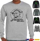 Yoda Rude offensive star wars Funny T-Shirts Long Sleeve tops Aussie prints New $26.99 AUD