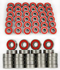 4/8PCS Set of Skateboard Bearings  ABEC 9 Hocker Wheel Steel New