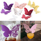 Butterfly Precise Cut Card for Wedding Name Place Party Table Mark 50pcs Decor
