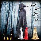 1pcs Fabric Hooded Cape Halloween Costume Fancy Dress Witches Long Cloak