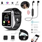 Android IOS Apple Smart Watch with Sim Card Camera Phone Bluetooth Wrist Watch