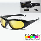 62cda109ce Polarized Wind Resistant Sunglasses Sports Motorcycle Riding Glasses Foam  Padded