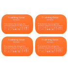 4 6Pcs Abdominal Exerciser Body Muscle Training Fitness Gear Fitpad Gel Pad TP