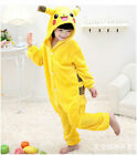 Pokemon Charmander Animal Pajamas Pikachu Onesie12 Kids Costume Pyjamas