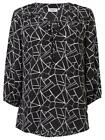 NEW Jeanswest Womens MARY CONTRAST PRINT TOP T-Shirts