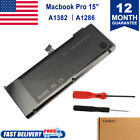 """Lot 1-10x Fr Apple A1382 Battery MacBook Pro Unibody 15"""" A1286 Late (Early 2011)"""