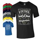 60th Birthday Gift T Shirt Made In 1958 Original Parts 60 Years Mens Ladies Top