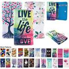 For Xgody D11 Card Slot Wallet Bag Flip Case Cover Smile Rose Nowknot Fashion