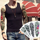 48*17cm Big Large Full Arm Tattoo Body Sticker Temporary Greece Style Flower New $1.78 USD on eBay