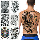 Big Large Full Back Temporary Body Art Tattoo Sticker TB Chest Classic Totem Hot $5.29 USD on eBay