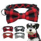 bow dog collar - Small Dog Bow Tie Collar Soft Cotton for Pet Puppy Cat Chihuahua French Bulldog