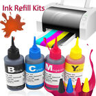 Universal Color Ink Cartridge Refill Kit for HP & Canon Series Printers100ml