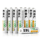 EBL 4-20PACK 800/1100mAh NI-MH AAA Rechargeable Batteries For Camera Flashlight