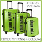 Personalized Stickers For Hard Suitcase Or Trunk Anti Theft See Case At Distance