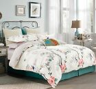 Oriental Style Cotton Bedding Set:1 Duvet Cover & 2 Pillow Shams  Queen/King