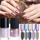 BORN PRETTY Nail Polish Matte Dull Mirror Magic Silver Gold Nail Art Varnish