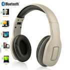 Bluetooth 4.1 Headset Wireless Stereo Super Bass Music Padded Headphone with Mic