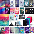 "US For Samsung Galaxy Tab S S2 S3 7"" 8"" 9.7"" Publish Universal Leather Case Cover"