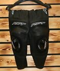 RST 'BLADE II' BLACK LEATHER MOTORCYCLE JEAN - VARIOUS SIZES - SAVE 30% OFF RRP