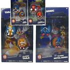 Official METAL SONIC THE HEDGEHOG articulated FIGURES COMIC BOX KNUCKLES TAILS
