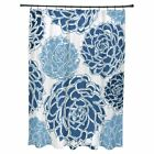 E by Design Olivia Polyester Shower Curtain