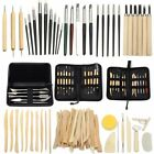 3-38pcs Clay Sculpting Set Wax Carving Pottery Tools Shapers Polymer Modeling