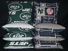 New York Yankees Jets Set of 8 Cornhole Bean Bags FREE SHIPPING $27.99 USD on eBay